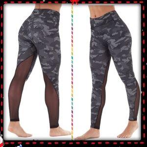 Women's Bally Fitness camo inspired leggings
